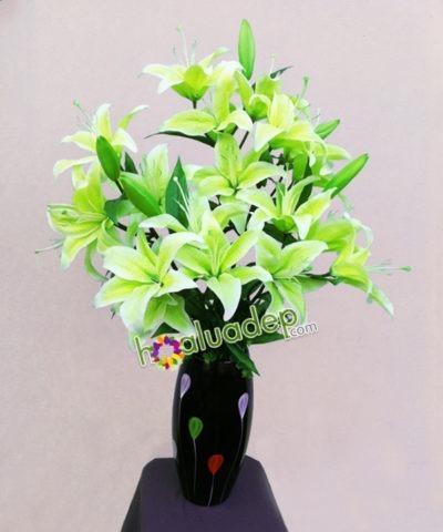 Hoa lụa, hoa giả Uyên shop, Hoa Ly