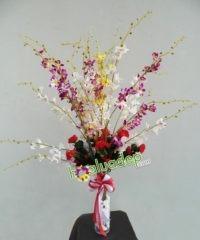 Hoa lụa, hoa giả Uyên shop, Vẻ đẹp tinh khôi