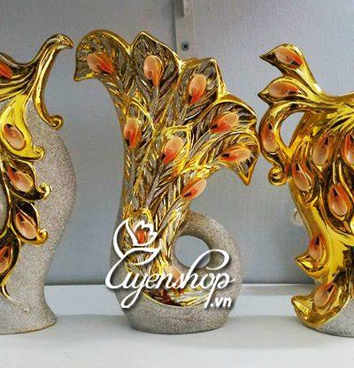 Hoa lụa, hoa giả Uyên shop, Bộ trang trí Châu Âu