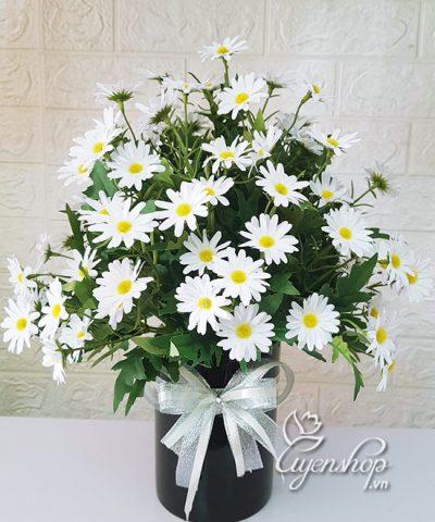Hoa lụa, hoa giả Uyên shop, Vẻ đẹp tự nhiên
