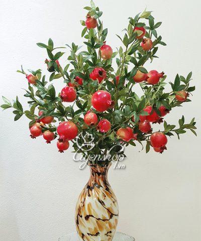 Hoa lụa, hoa giả Uyên shop, BÌNH LỰU TÀI LỘC
